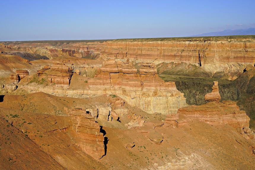Ausblick auf den Scharyn Canyon - Valley of Castles - Kasachstan