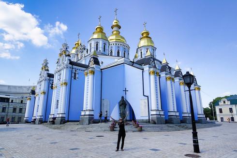 Blaue Kirche in Kiew