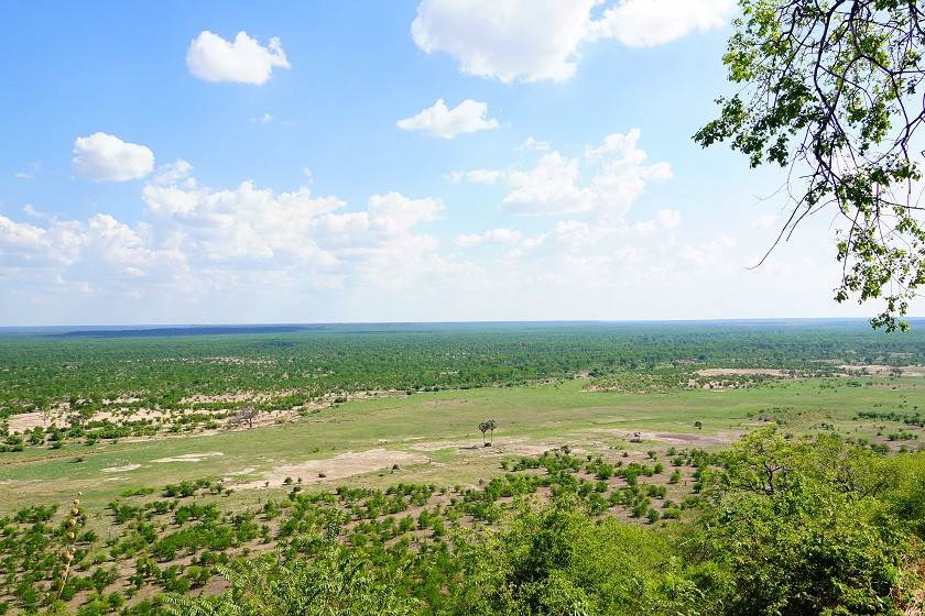 Ausblick vom Sinamatella Camp - Hwange Nationalpark