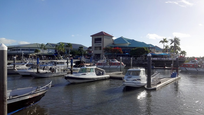 Hafen Port Denarau - Fidschi