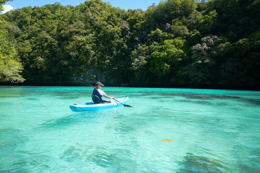 Kajaken auf Palau