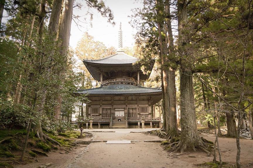 Saito Pagode in Koya-San