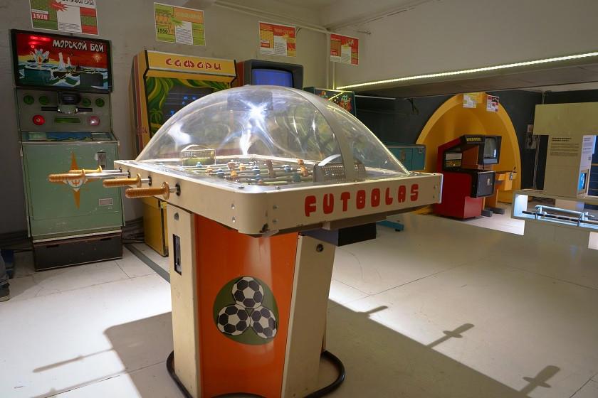 Sowjetisches Arcade Museum - Moskau