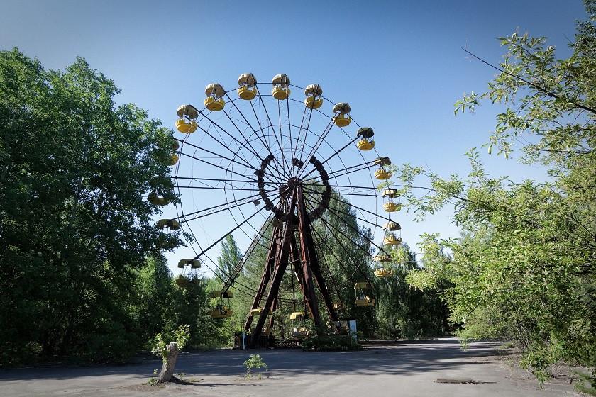 Riesenrad in Prybjat