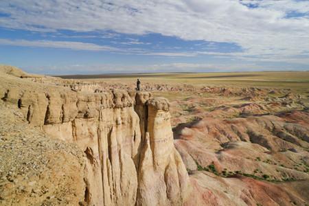 Bunte Berge in der Mongolei