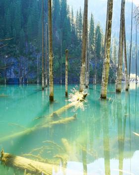 Kaindy-See-Kasachstan