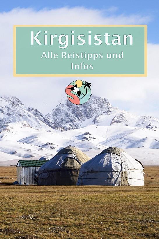 Kirgisistan Reisetipps - Pin