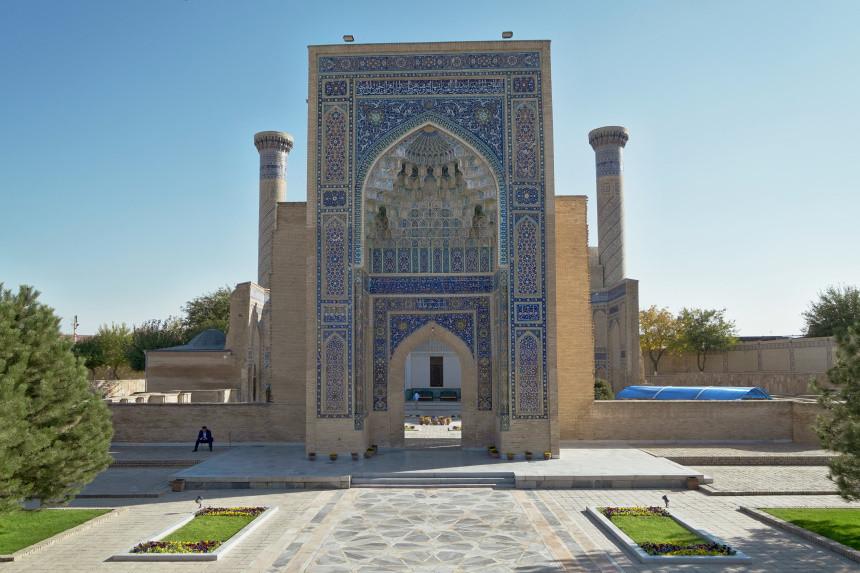 Eingang zum Gur-Emir-Mausoleum