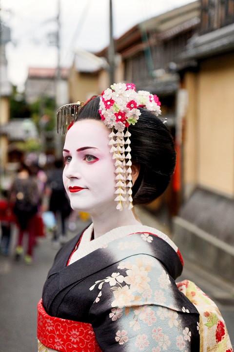 Kati als Maiko in Gion - Kyoto