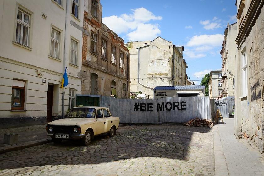 Alte Ladas in der Altstadt - Lviv