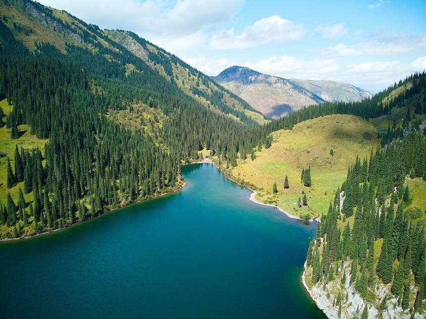 Kolsai See Nr. 2 - Kasachstan