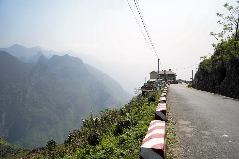Ma Pi Leng Pass mit Blick auf Berge