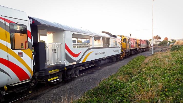 Tranz Alpine Express Neuseeland