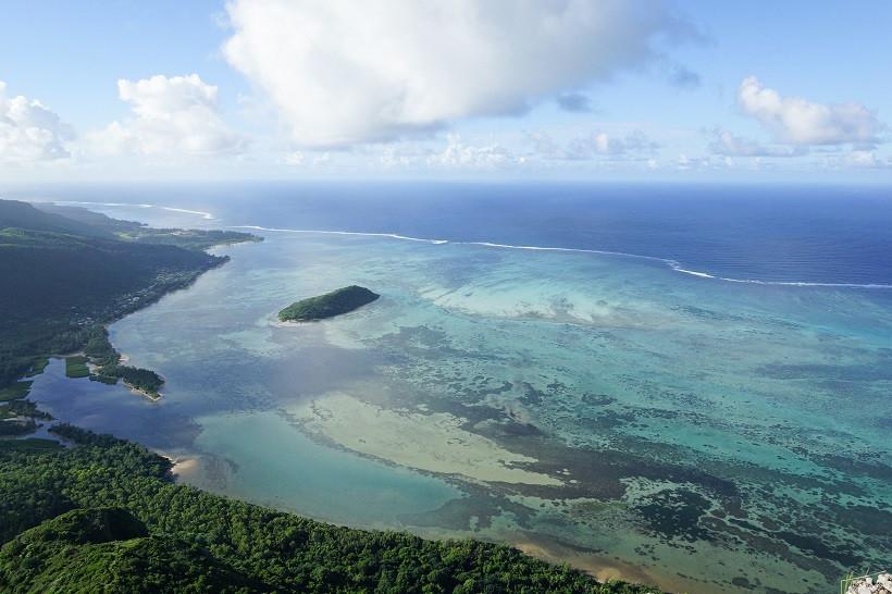 Ausblick vom Le Morne Brabant - Mauritius