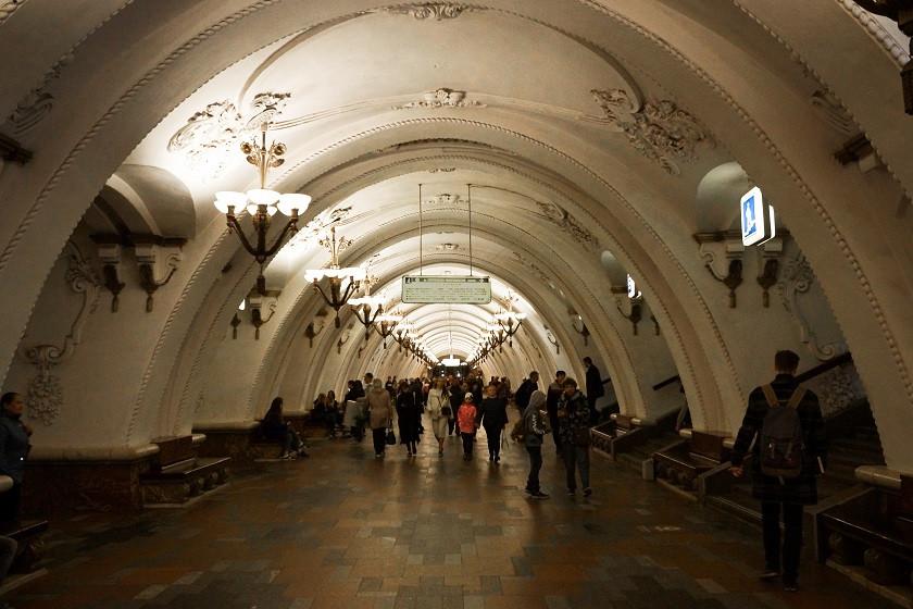 Arbatskaja Metro Station - Moskau