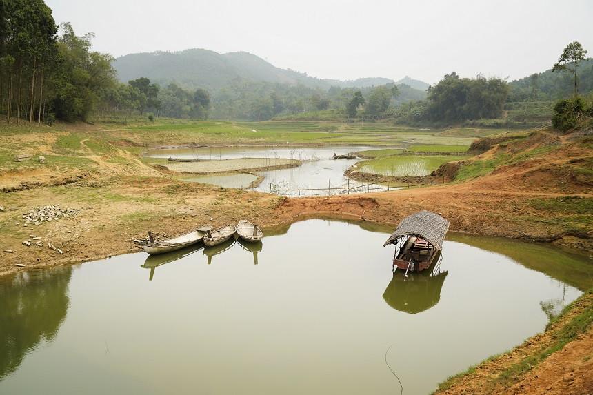 Traumhafte Landschaft im Norden Vietnams