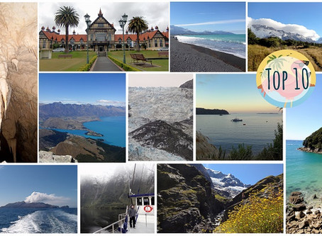 Unsere Top 10 Must Do's & Must See's in Neuseeland
