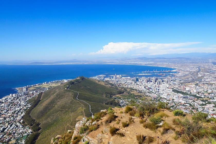 Blick vom Lions Head - Kapstadt