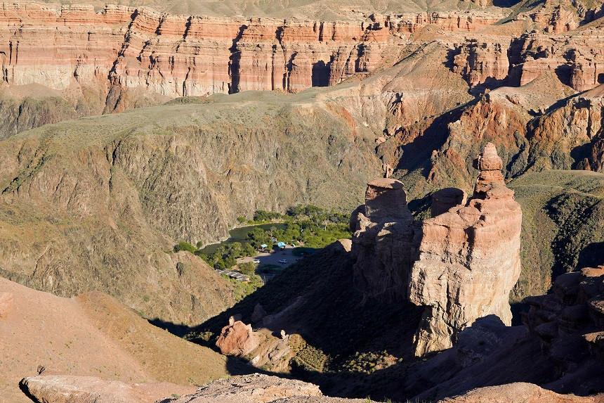Camp im Scharyn Canyon - Kasachstan