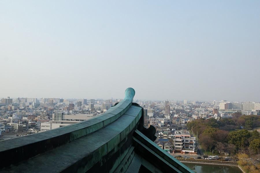 Blick auf Nagoya