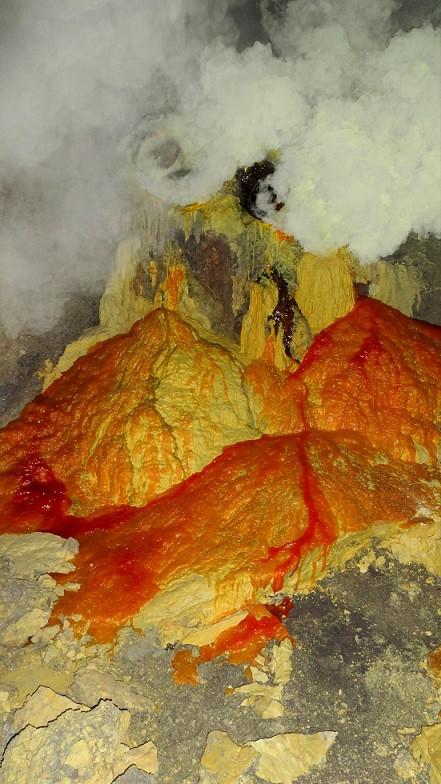 Sulfur - Mount Ijen
