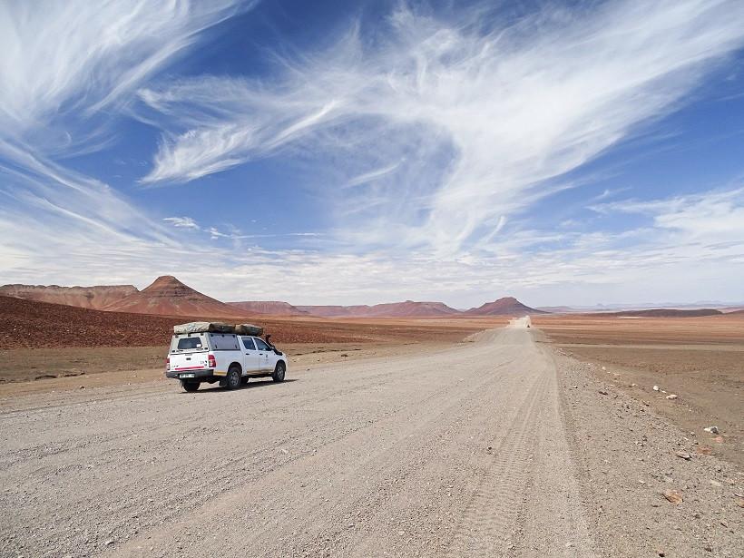 Marslandschaft in Namibia