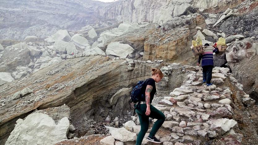 Anstieg - Mount Ijen Krater