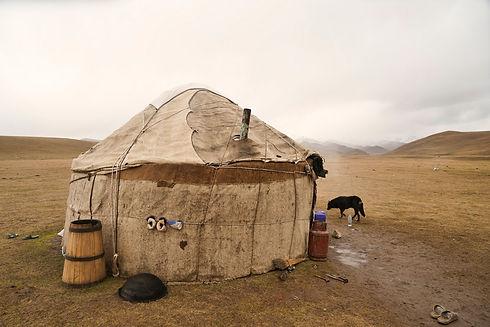 Jurte in Kirgisistan