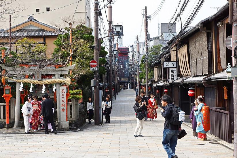 Gions Gassen - Kyoto
