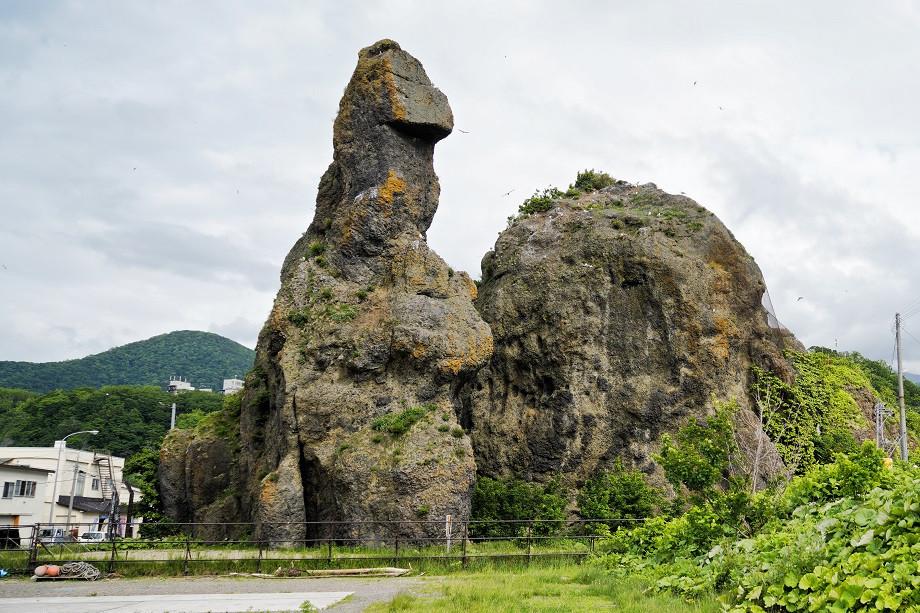 Godzilla Rock in Utoro