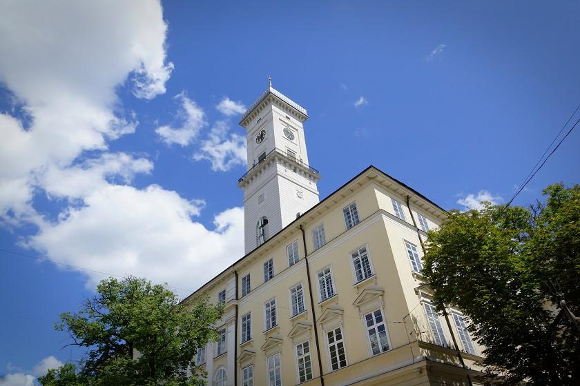 Rathaus in Lviv