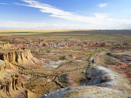 Tsagaan Suvarga: Bunte Klippen der Mongolei