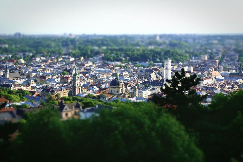 Ausblick vom Castle Hill - Lviv