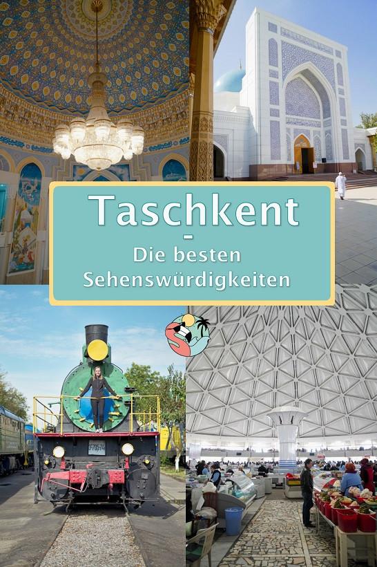 Taschkent Sehenswürdigkeiten - Pin