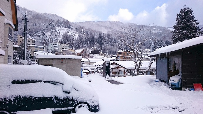 Neuschnee - Nozawa Onsen