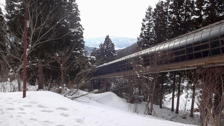 Skirolltreppe - Nozawa Onsen