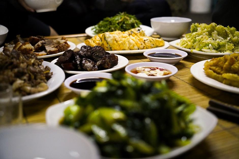 Traditionelles vietnamesisches Essen
