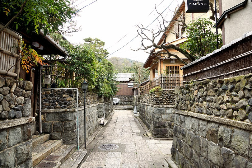 Gassen in Gion - Kyoto