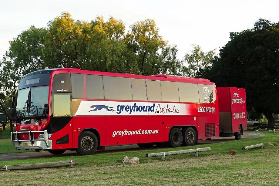 Greyhound Bus - Australien