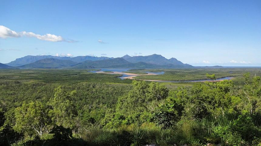 Landschaft rund um Cairns
