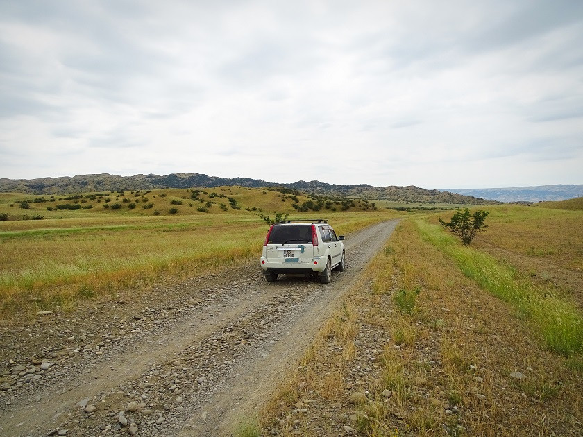 Anfahrt nach Takhti Tepa
