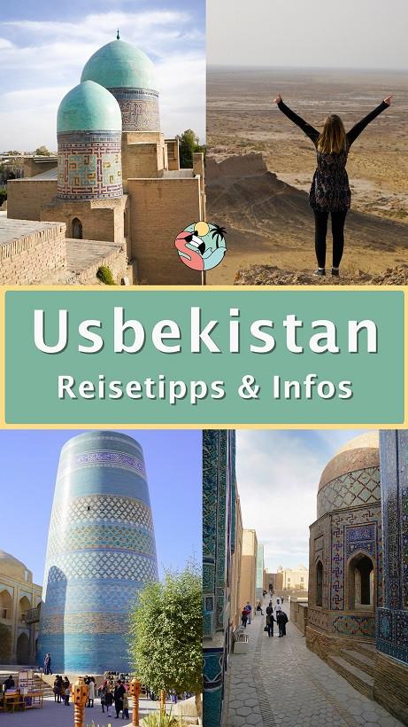 Usbekistan Reisetipps - Pin