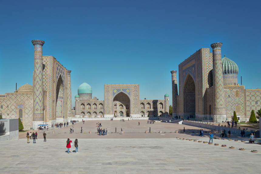 Registan Komplex in Samarkand