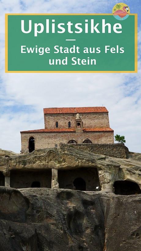 Höhle in Uplistsikhe