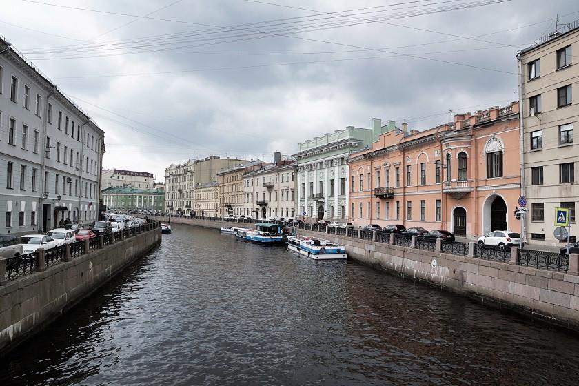 Kanal durch Sankt Petersburg