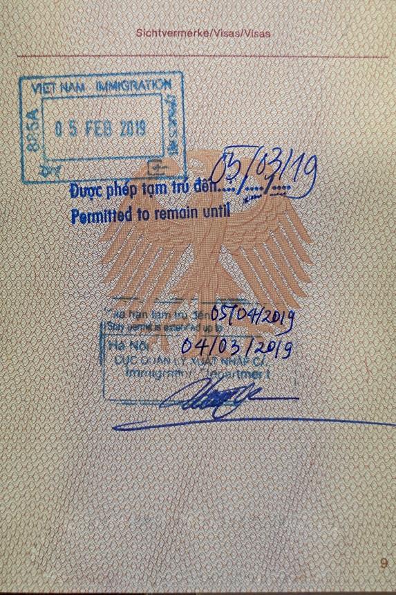 Vietnam-Visa-Verlängerung-Stempel