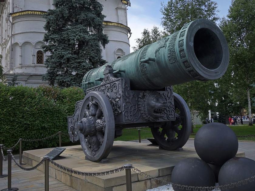 Zarenkanone im Kreml - Moskau