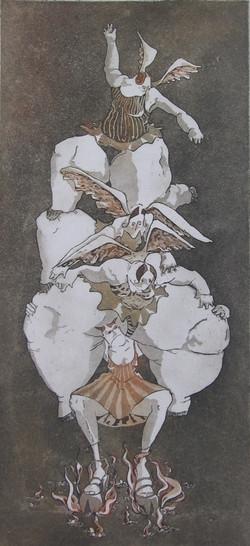 Engelen  en duivel