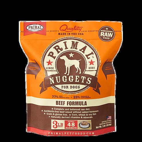 Primal Beef Formula Raw Dog Food