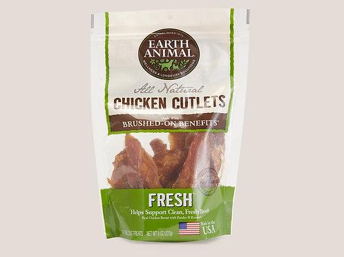Earth Animal Fresh Breath Chicken Cutlets